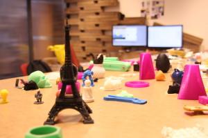 Kancelář 3D tiskové dílny Makerslab