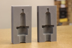 3D tištěný master pro svíčku svíčku