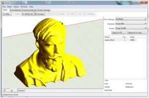 slicer nastavení 3D tiskárny makerslab praha 3d model kořen