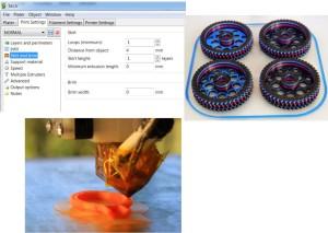 slicer nastavení 3D tiskárny makerslab praha základní nastavení podpůrných konstrukcí