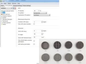 slicer nastavení 3D tiskárny makerslab praha základní nastavení výplně