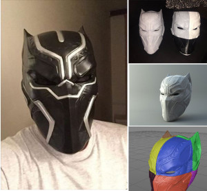 blackpanter 3D print mask